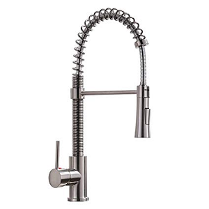 KINGO HOME Lead-Free Single Lever Handle Commercial Kitchen Faucet