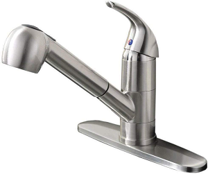 Ufaucet Modern Commercial Pull Out Kitchen Faucet