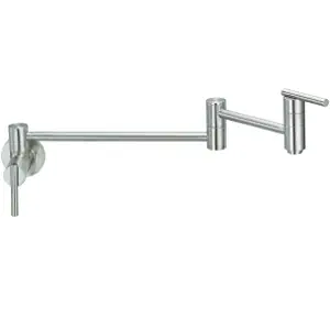 Danze D205058SS Parma Wall Mount Pot Filler Faucet