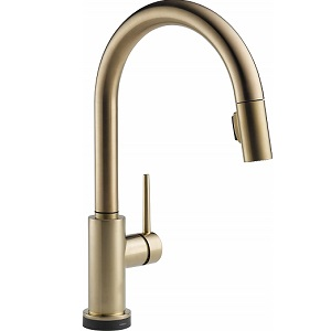 Delta Pull Down Trinsic Kitchen Sink Faucet