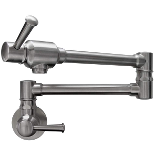Geyser GF47-B Stainless Steel Pot Filler Faucet