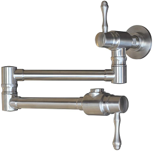MSTJRY Wall Mount Stainless Steel Commercial Pot Filler Faucet
