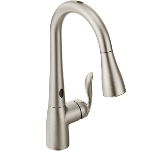 Moen 7594ESRS Arbor  Stainless Touchless Pulldown Kitchen Faucet