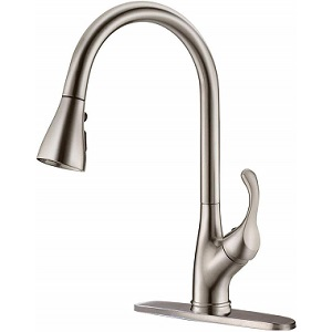 APPASO Commercial 3 Hole Kitchen Faucet