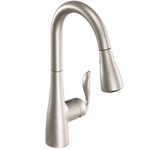 Moen 7594SRS Arbor 3 Hole Pulldown Kitchen Faucet