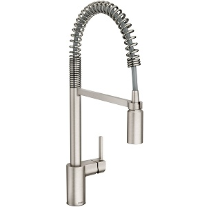 Moen 5923SRS Align One-Handle Pre-Rinse Spring Pulldown Kitchen Faucet