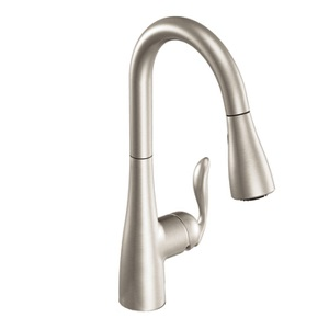 Moen 7594SRS Arbor One Handle Kitchen Faucet